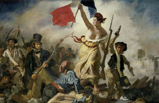 liberty leading the revolution