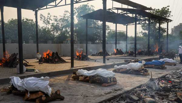 cremation Covid India