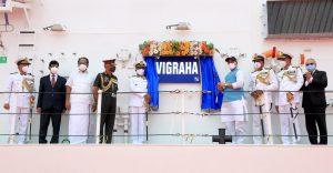Rajnath dedicates indigenously built Coast Guard ship Vigraha to nation