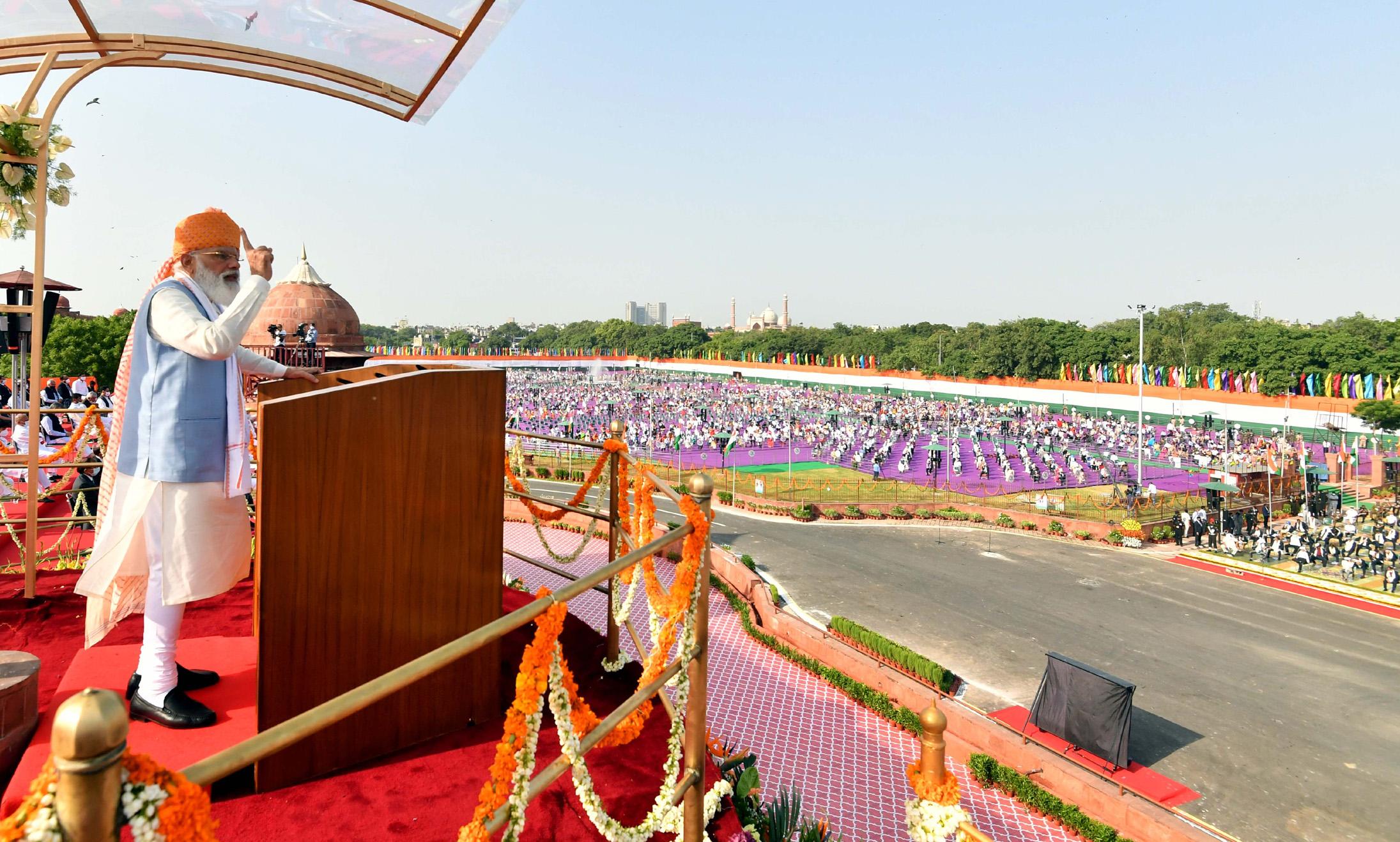 PM announces Rs 100 lakh-crore Gati Shakti national infrastructure plan